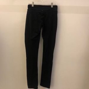 lululemon athletica Pants - Lululemon black slim pant, sz 4, 68090